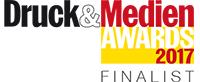 Nominiert für den Kolbus Award (Weiterverarbeitung) bei den PrintStars 2017